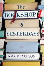 Bookshop of Yesterdays book cover picture