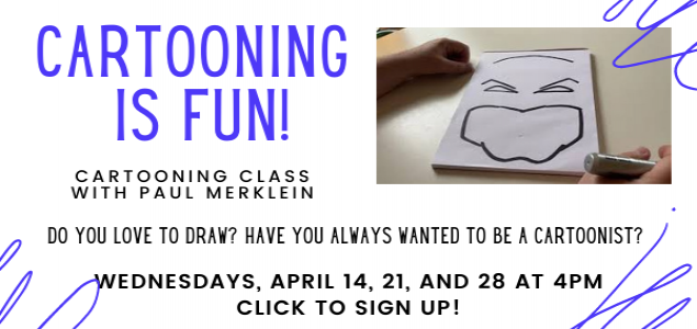 cartooning is fun workshop